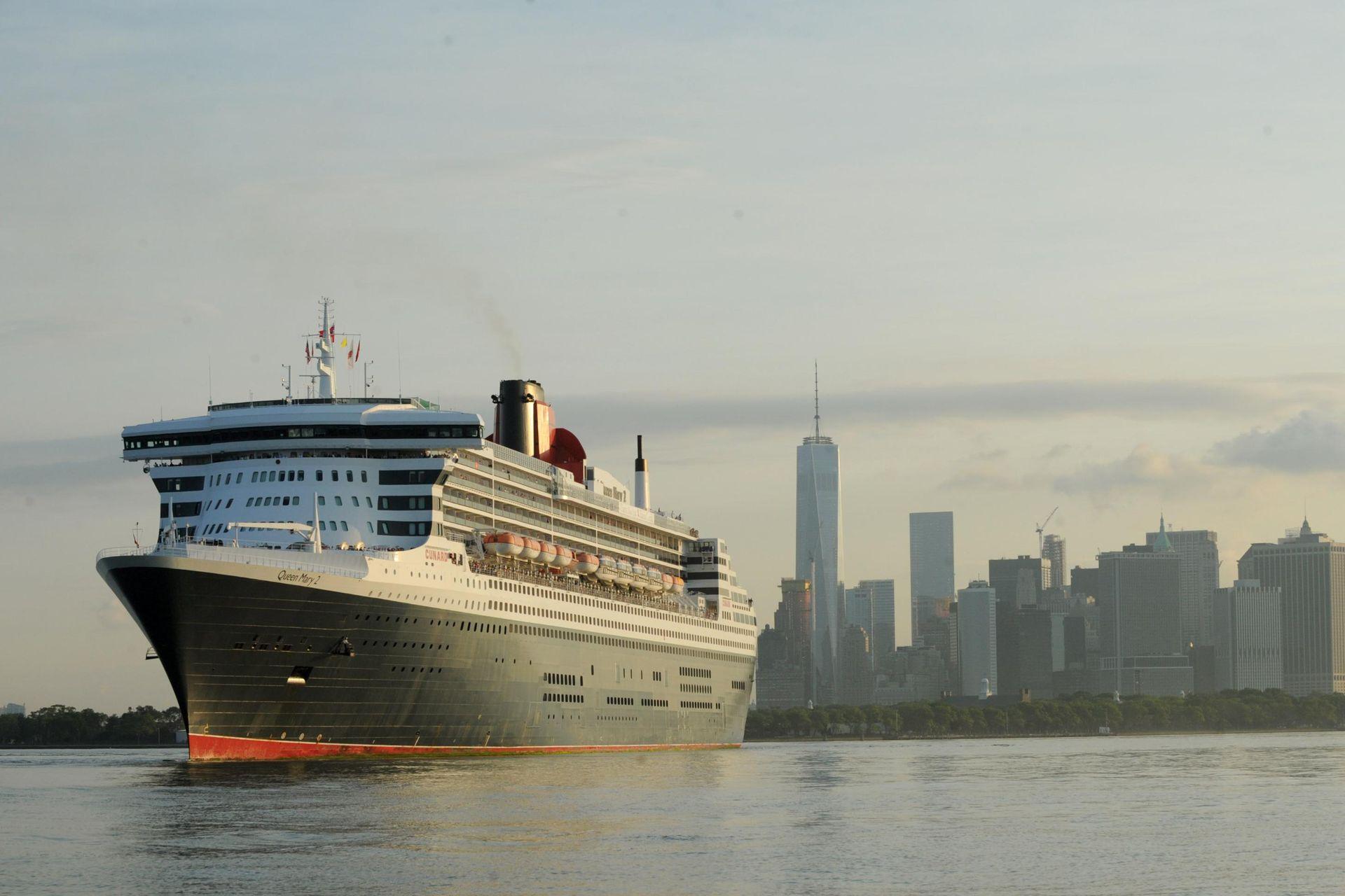 Reise Die Atlantik Passage Mit Der Queen Mary 2 Diplomatisches